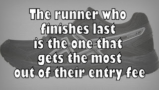 Things I Learnt In June - The runner who finishes last is the one that gets the most out of their entry fee