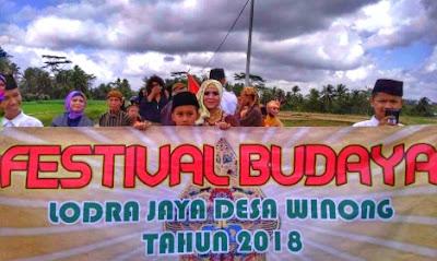 festival budaya lodra jaya desa winong banjarnegara