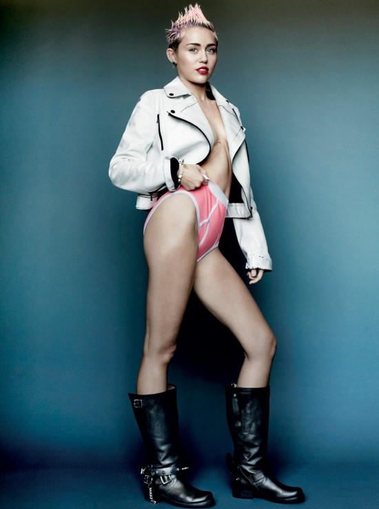 Celebrities View Buzz Miley Cyrus New Photoshoot For V