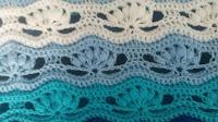 Wavy crochet free pattern