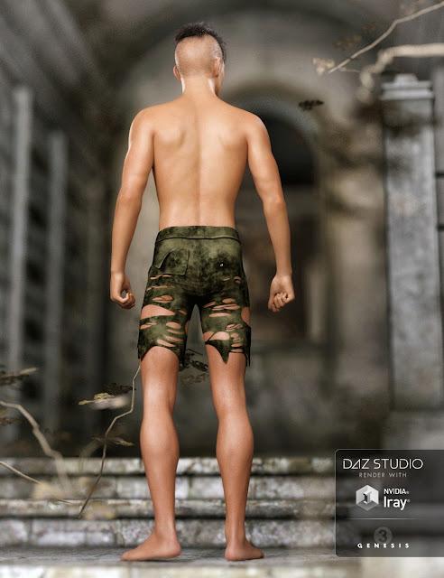 FW Aran HD for Genesis 3 Male