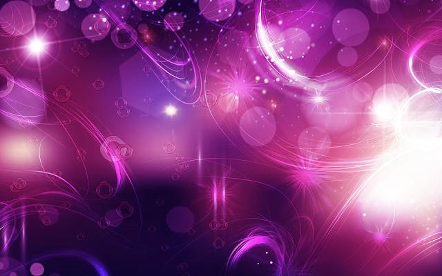 Abstracte achtergrond met roze en paarse lichten