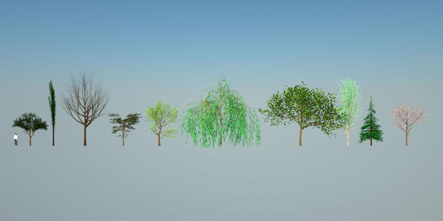 3d tree maker Sketchup