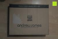 Verpackung: Andrew James 40cm Standventilator mit Chromfinish – 60 Watt Motor, Verstellbare Höhe, 3 Geschwindigkeitseinstellungen, verstellbare Neigung und Schwenkfunktion + Hochbeanspruchbar – 2 Jahre Garantie