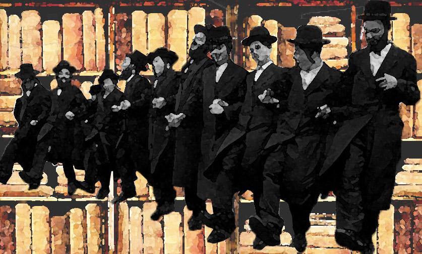 hasidic dancing