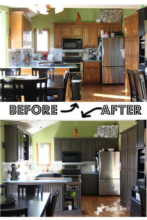 Rustoleum New Grey Kitchen Cabinet