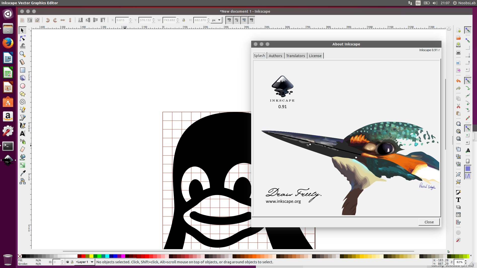 Inkscape a great open source vector graphics editor Open source svg editor