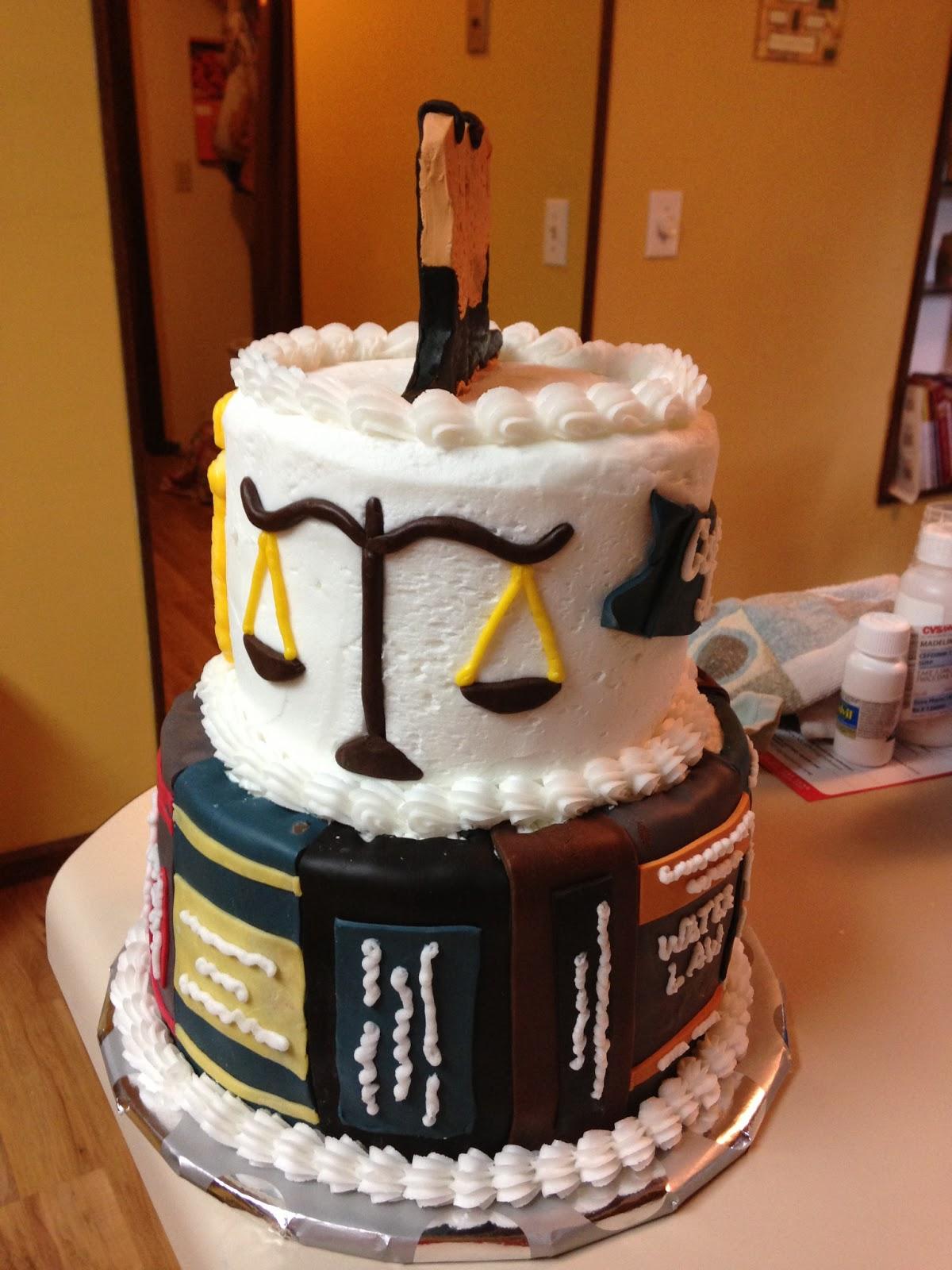 Law School Cake Ideas