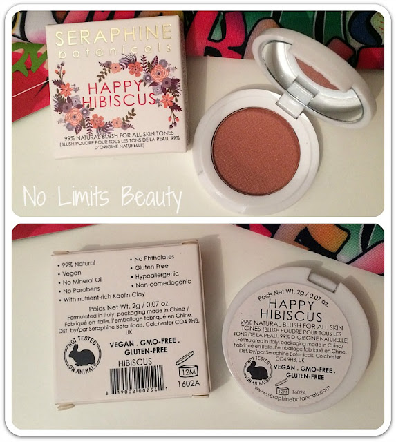 Ipsy Junio 2016 - Seraphine Botanicals Happy Hibiscus Blush