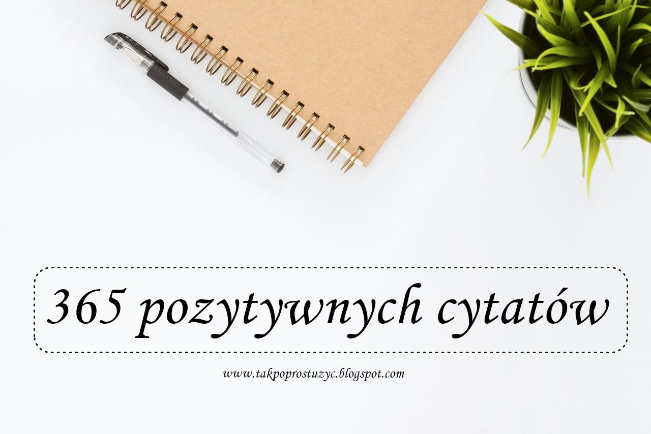365 Pozytywnych Cytatów