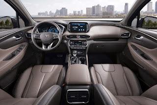 Hyundai Santa Fe (2019) Dashboard