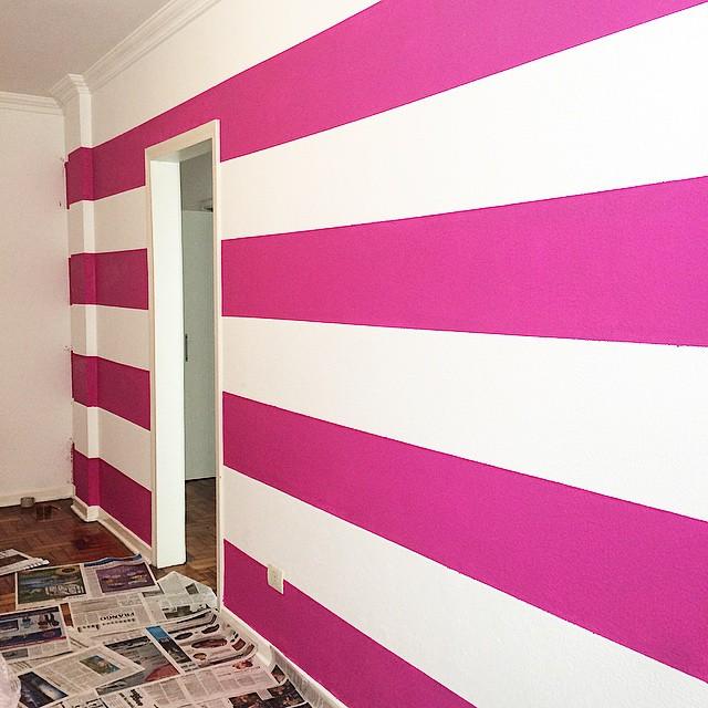 Pinturas cores textura de faixa decorativa textura for Fotos paredes pintadas
