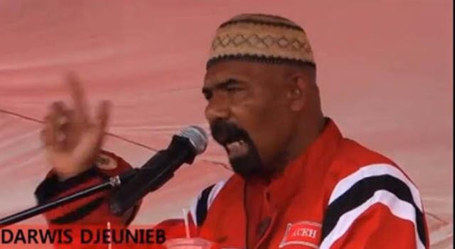 Kader Partai Aceh Jangan Plin-Plan, Begini Perintah Darwis Jeunib