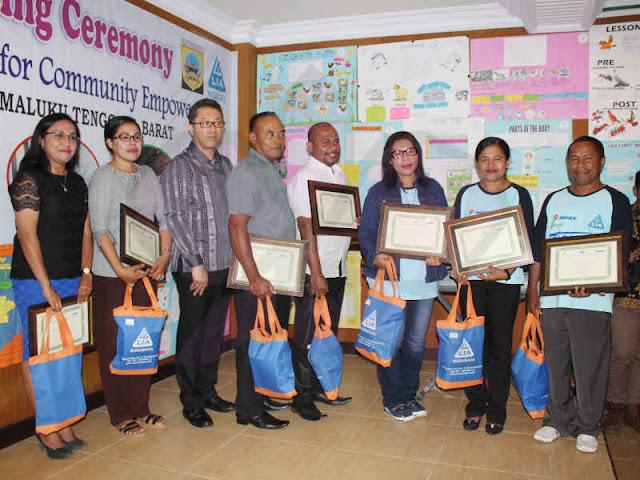 "Inpex Tutup Pelatihan Bahasa Inggris ""English For Community Empowerment"" di Tanimbar"