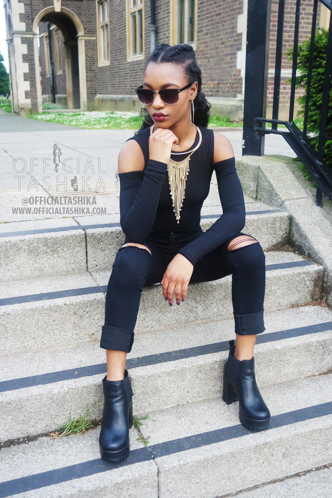 Tashika Bailey | Making A Statement X Slaying In Black