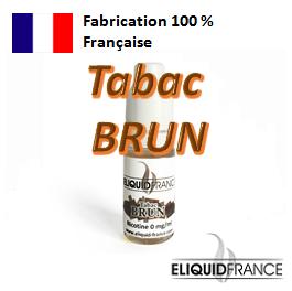 E-Liquide Tabac BRUN ELIQUID FRANCE 100 % Français sur Top Cigarette Electronique