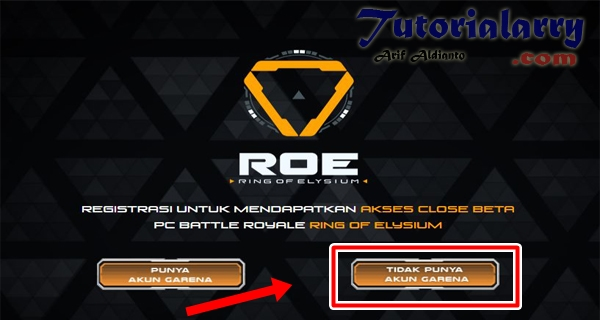 Cara Daftar ROE (Ring of Elysium)