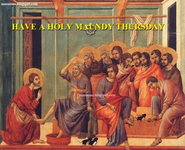 Maundy Thursday Message- Happy Maundy Thursday Quotes 2017 Holy Week SMS