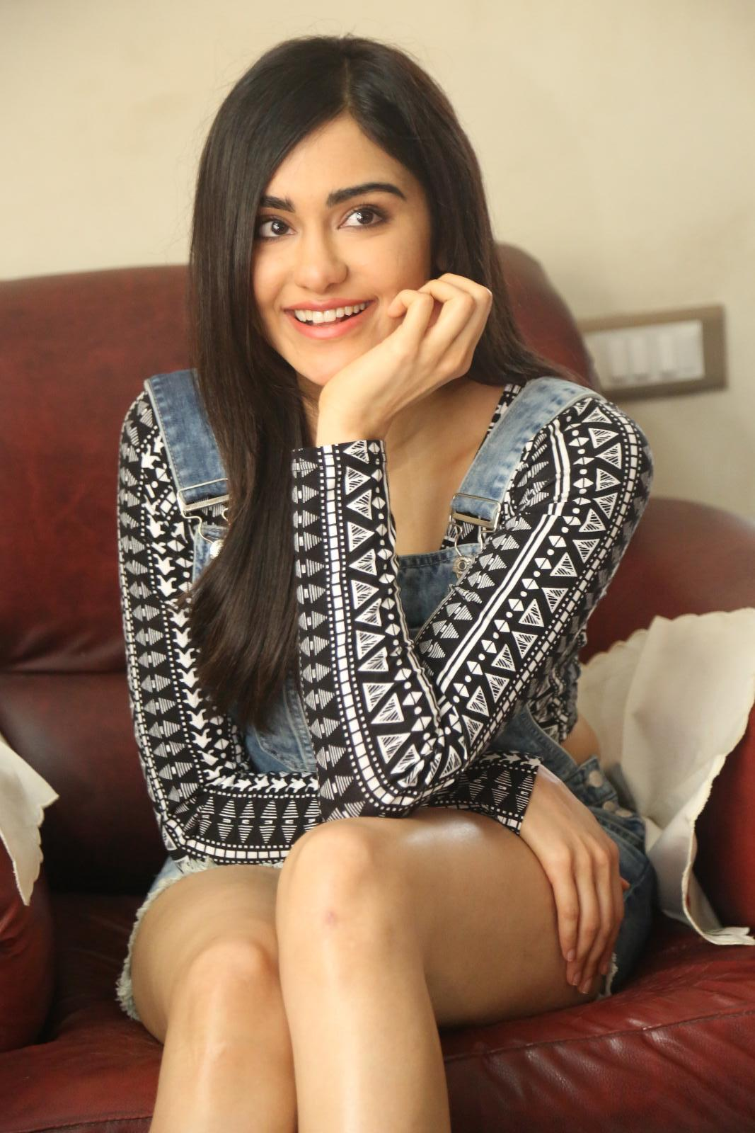 Adah Sharma Latest Hot Thigh Showing Photos
