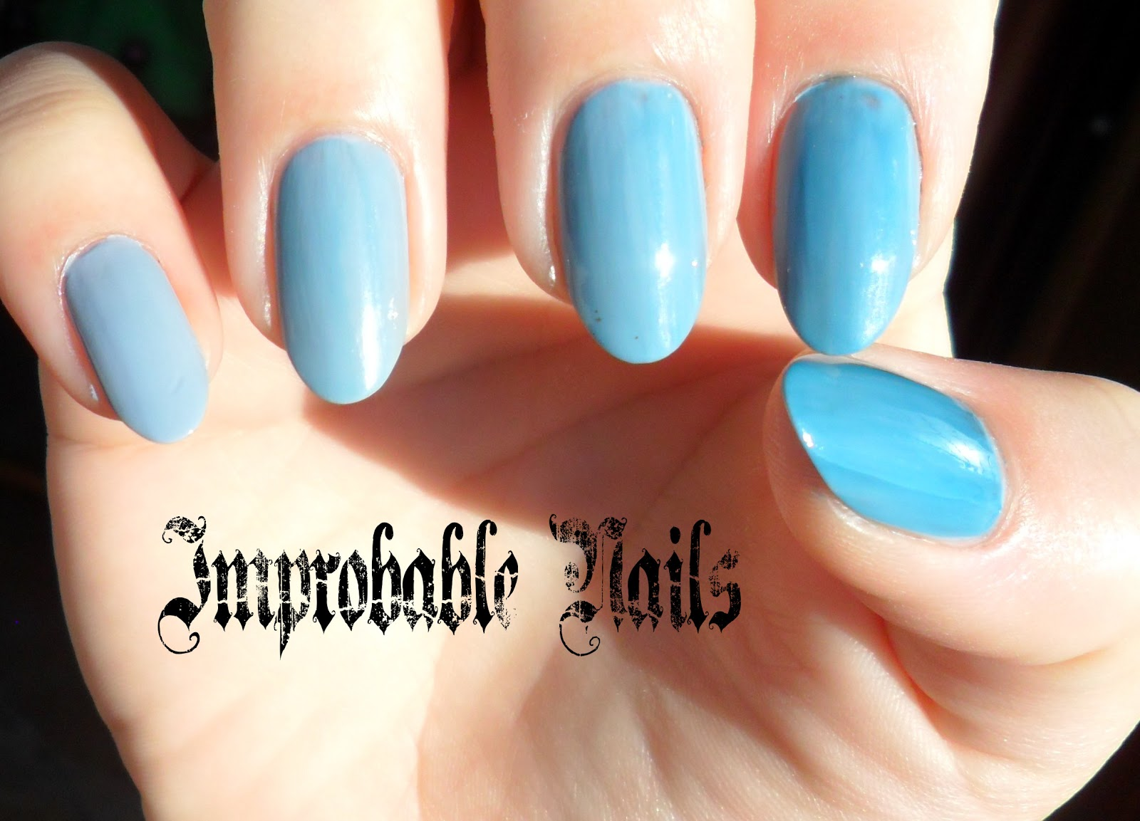 """Improbable Nails: Swatch: PUPA degrade kit 001 """"BLUE"""""""