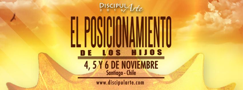 Discipularte 2016 santiago chile 4 5 y 6 noviembre for Conciertos en santiago 2016