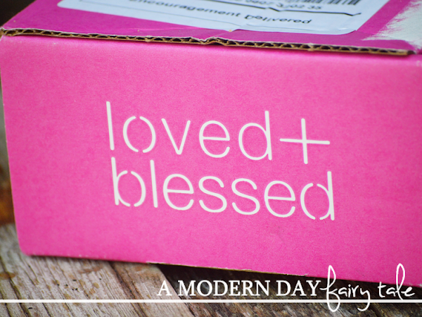 Encouragement Delivered Right To Your Door with loved+blessed {A Review & Giveaway} #LovedandBlessed #FlyBy