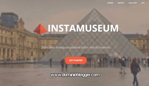 Crea un museo virtual con tus fotos de Instagram con Instamuseum