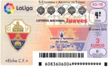 Loteria nacional del jueves 20 de octubre de 2016