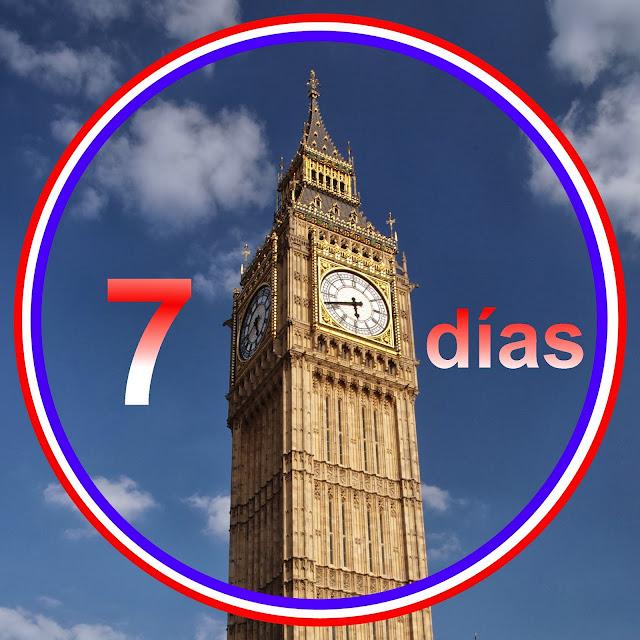 La vuelta a Londres en siete días