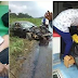 Dreadful Accident Along Aba-Port Harcourt Road Leaves Woman Almost Dead. (Photos)