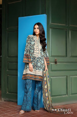 Khaadi-embroidered-lawn-suit-2017-chiffon-dress-collection-for-women-4