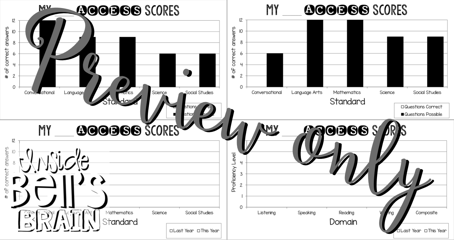 English Learner Notebooks: Using Data in Your ELL/ESL