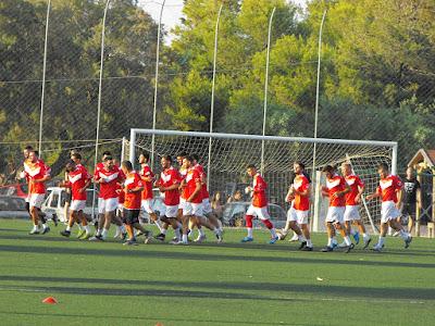 Ξεκίνησε χθες η προετοιμασία των ποδοσφαιριστών της ΑΕΕΚ ΙΝΚΑ