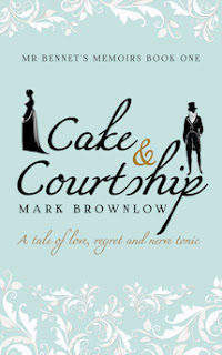 Book cover: Cake & Courtship by Mark Brownlow