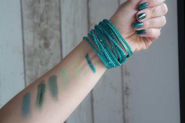 swatchs makeup sleek zoeva agnes b