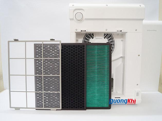 Máy lọc khí và tạo ẩm Coway APM-1010DH