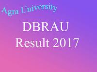 Agra University Result 2016 - 2017