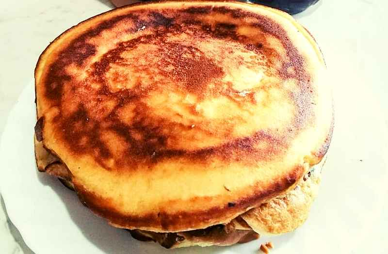 Low-Carb Keto American Pancakes Peanut Butter Recipe