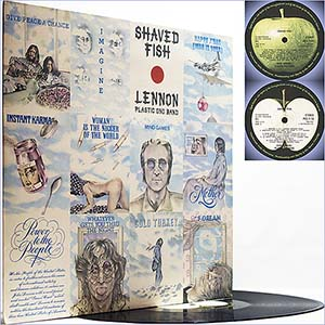 Shaved fish Lennon