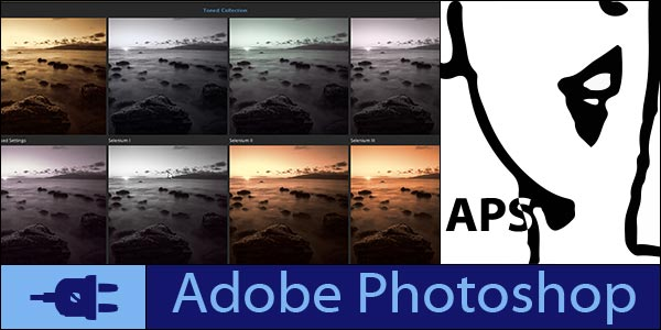 Grid view wit presets applied in Topaz plugins
