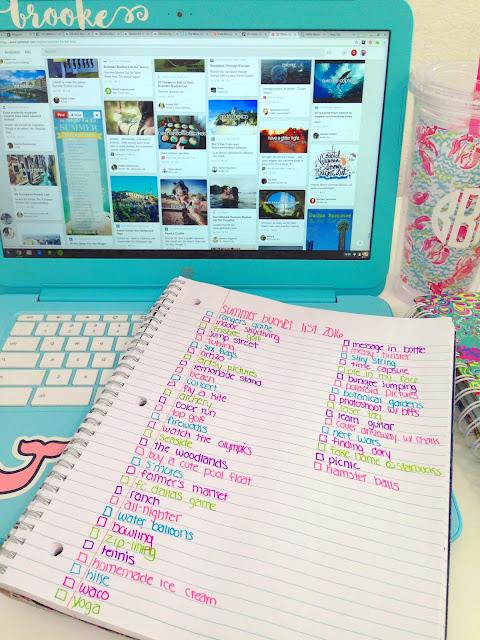 Summer Bucket List Ideas | Live The Prep Life