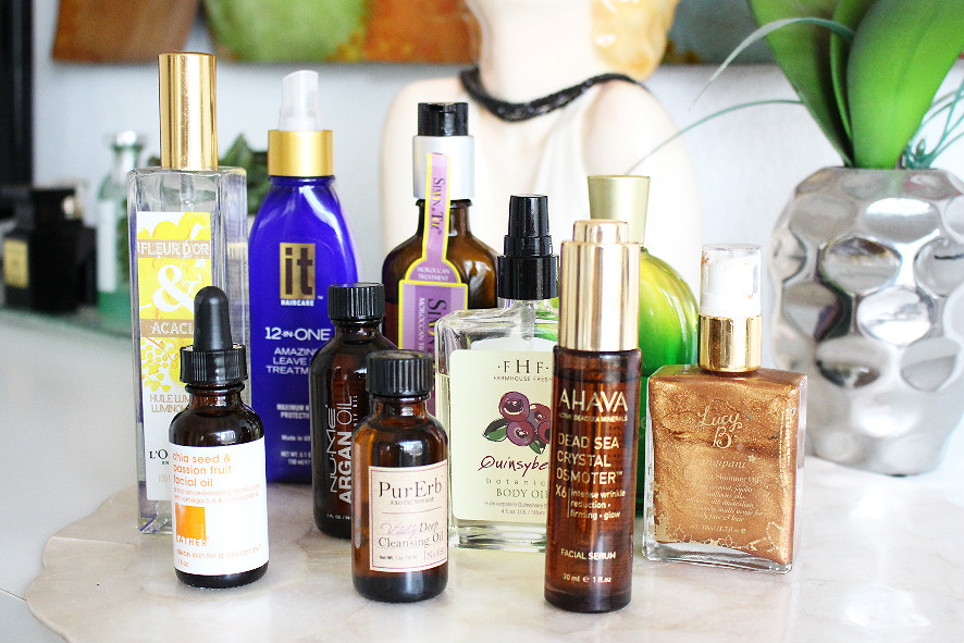 lather, purerb, ahava, farmhouse fresh, lucy b, arganese, nume, l'occitane, simon & tom, it haircare, benefits of beauty oils, what is beauty oil, benefits argan oil, benefits chia seed oil