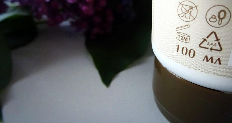 ec lab - natural organic, EO LABORATORIE - krem do rąk - nawilża i zmiękcza - organiczny olej ze słodkich migdałów, oczar wirginijski, miłorząb japoński, prowitamina B5 (bez silikonów i parabenów), krem idealny na jesień, naturalny krem do suchych dłoni