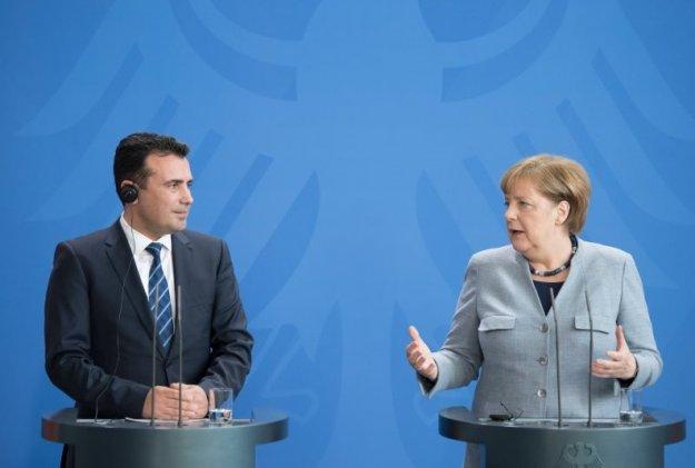 Συνάντηση Μέρκελ - Ζάεφ στο Βερολίνο
