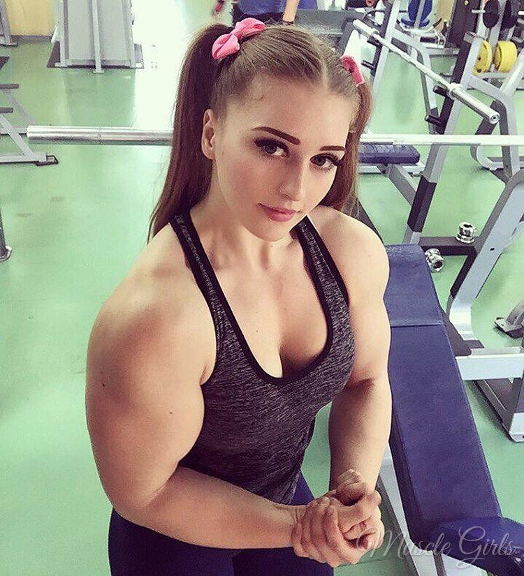 Muscle Girls 2017 : Julia Vins