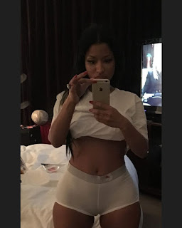 Nicki Minaj Pussy Lips In Panties