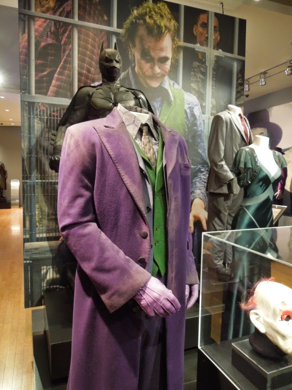 Heath Ledger Joker costume Dark Knight