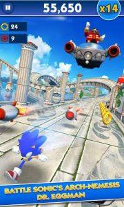 Sonic Dash MOD APK Terbaru v3.2.2.3