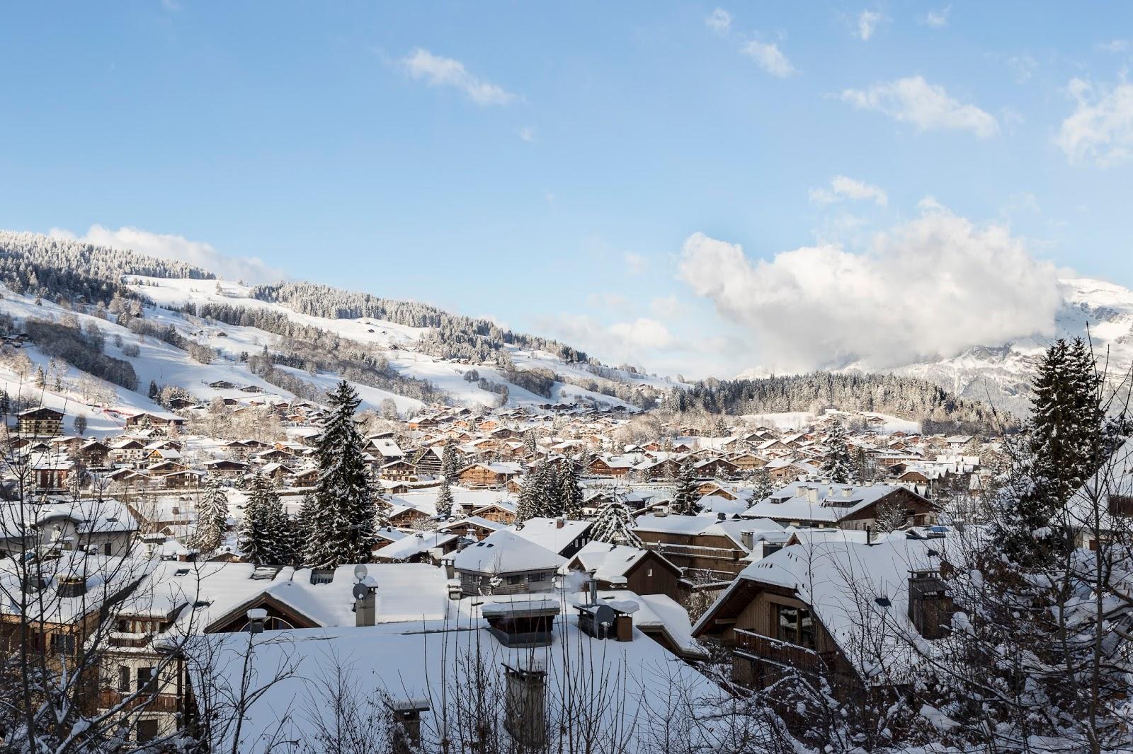 village chalet megève