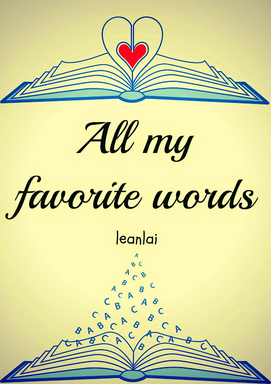 All my favorite words